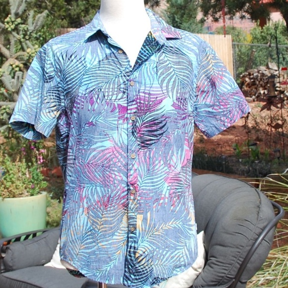 75f24fda33 Denim   Flower Other - Denim   Flower Ricky Singh Slim Fit Shirt M